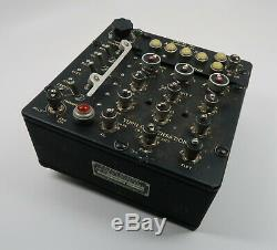WW2 US Army Air Force Corp USAF B24 Type C1 Bomb Norden bombsight control box