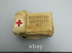 WW2 US Army Air Force/Navy/MC Aeronautic First Aid Kit Loaded Red Cross 2