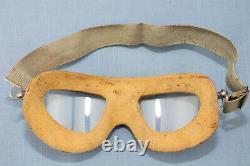 WW2 US Army Air Force/USN AN6530 Pilots Flight Goggles Original WW2