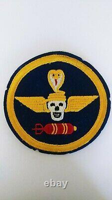 WW2 US Army Air Forces 1st Composite Squadron Patch. Cut edge on felt. Rare