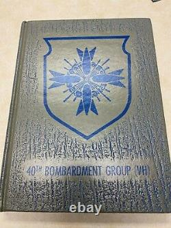 WW2 US Army Air Forces 40th Bomb Group Unit History