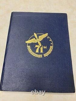 WW2 US Army Air Forces 71st Bomb Squadron History