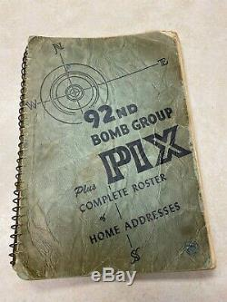 WW2 US Army Air Forces 92nd Bomb Group Pix & Roster