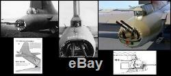 WW2 US Army Air Forces B-17 Bomber Tail Gunner Canvas Cover Rear Gunner & Tanks