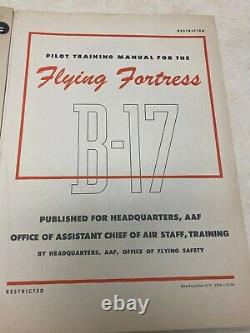 WW2 US Army Air Forces B-17 Pilot Training for the Flying Fortress