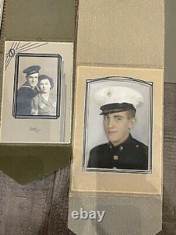 WW2 US Army Marines Navy Air Corps Photo Portrait lot Of 23 USGI USMC