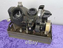 WW2 US Army Navy mark I Air Force Corp Bomber M7 Norden Bombsight with metal stand