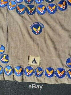 WW2 Vintage US Army Air Corp Air Transport Command / Air Command Blanket