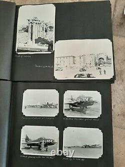 WW2 WWII 50s Army Air Corps Air Force photo albums 3454 squadron. 350+ photos