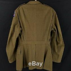 WW2 WWII 7th US Air Force Army Pacific Technician Patch Wool Dress Uniform 36R