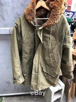 WW2 War B-11 Army Air Force Jacket Military Coat Sz 40 WWII USA