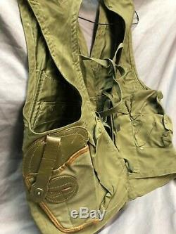 WWII Air Forces U. S. Army Survival Vest, original, excellent condition