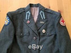 WWII American Red Cross Female Uniform Jacket Pacific Theater 5th Army Air Corps