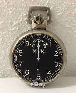 WWII Army Air Corps 1942 Elgin A8 Ground Speed Jitterbug Stopwatch WORKS FINE
