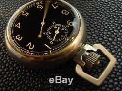 WWII Army Air Corps 1942 Elgin A8 Ground Speed jitterbug stopwatch, rare box
