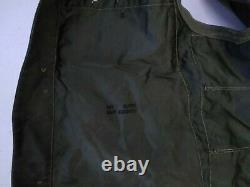 WWII C-1 Pilot Emergency Sustenance Vest US Army Air Forces Green Inv#W1069