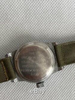 WWII ELGIN US ARMY AIR FORCE A-11 Watch 539 Hack WW2 Vintage 1945
