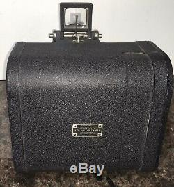 WWII Era Folmer Graflex US Army Air Force Aircraft K-20 Camera Aerial 4x5