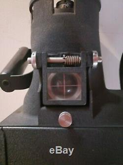 WWII Era Folmer Graflex US Army Air Force Aircraft Type K-20 Camera with Case