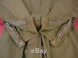 WWII Era USAAF Army Air Force Type A-4 Summer Flying Suit OD Green Size 36