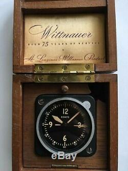 WWII Longines-Wittnauer Type A-11 8-Days US ARMY AIR CORP CLOCK WITH BOX