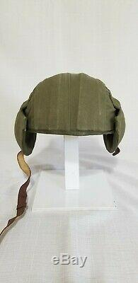 WWII Military USAAF Army Air Force M4A2 Flak Helmet WW2