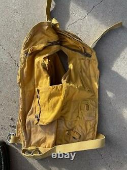 WWII Original US Army Air-Force Type B-5 Life Vest dated 1945