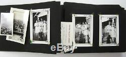 WWII Photo Album Harley Davidson Motorcycle Army Air Corps Eagle Squadron RAF