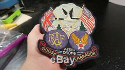 WWII RCAF-AAF Goose Bay, Labrador Jacket Patch Multi-Piece Army Air Corps