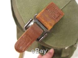 WWII USAAF Army Air Force M4A2 Flak Helmet Complete withChin Strap Unissued #1