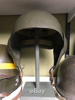 WWII USAAF Army Air Force M5 Flak helmet Named