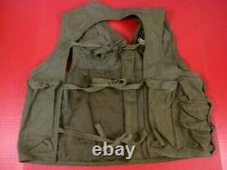 WWII USAAF Army Air Force Type C1 Emergency Sustenance Vest Sears RARE #6