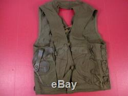 WWII USAAF Army Air Force Type C-1 Emergency Sustenance Vest withHolster RARE #1