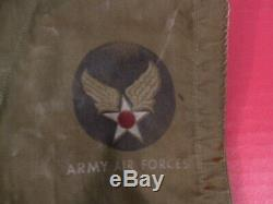 WWII USAAF Army Air Force Type C-1 Emergency Sustenance Vest withHolster RARE #2
