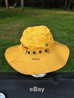WWII USAAF C-1 Reversible Sun Hat Survival Vest RARE Boonie Army Air Forces 1944