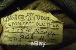 WWII USAAF US Army Air Force Officers Uniform Coat, Pants and Shirt