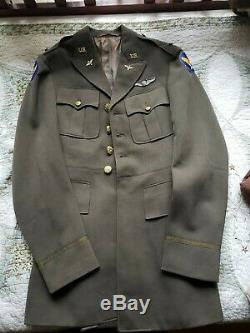 WWII US 8th Army Air Force Pilot Officers Uniform