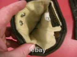 WWII US AAF Army Air Force F2 or F3 Electrically Heated Leather Flying Gloves #2