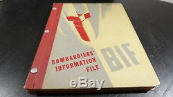 WWII US Army Air Corps 1945 B-17, B-24, B-29, A-26, B-25, B-26 BOMBARDIERS Book