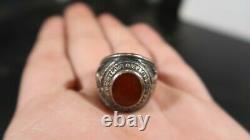 WWII US Army Air Corps Pilot Ring Jacobson Sterling Silver