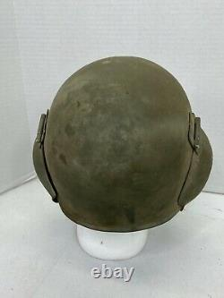 WWII US Army Air Force Aircrew Flak Helmet