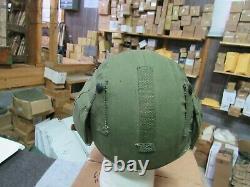 WWII US Army Air Force M-4 Flack Helmet Pilot / Crew NOS 100% orig Very Rare