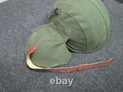 WWII US Army Air Force M-4 Flack Helmet Pilot / Crew NOS 100% orig Very Rare