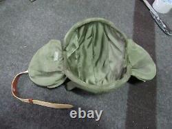 WWII US Army Air Force M-4 Flack Helmet Pilot / Crew NOS 100% orig Very Rare #2