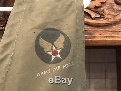 WWII US Army Air Force Survival Vest Type C-1 B17 P-51 P-38 A2 Corsair F4U Fligh