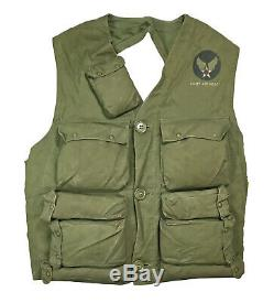 WWII US Army Air Force USAAF Pilot Survival Vest Emergency Sustenance Type C-1