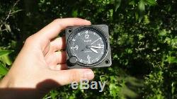 WWII US Army Air Force Wittnauer A-11 Cockpit 8 Day Clock Aircraft Airplane