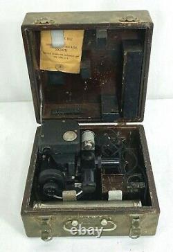 WWII US Army Air Forces A10A Aircraft Sextant