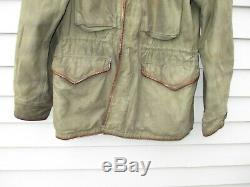 WWII US Army Field Jacket M43 Sergeant Stylized Theater Tailored Air Corps WW2