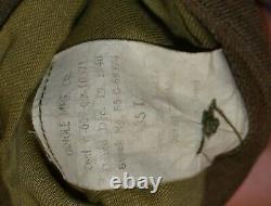 WWII U. S. ARMY AIR CORPS China Burma India CBI UNIFORM JACKET-Bullion